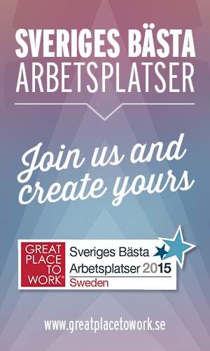 Great Place to Work - Sveriges bästa arbetsplatser