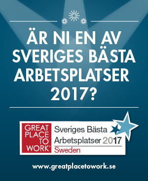 Great Place to Work - Sveriges bästa arbetsplatser