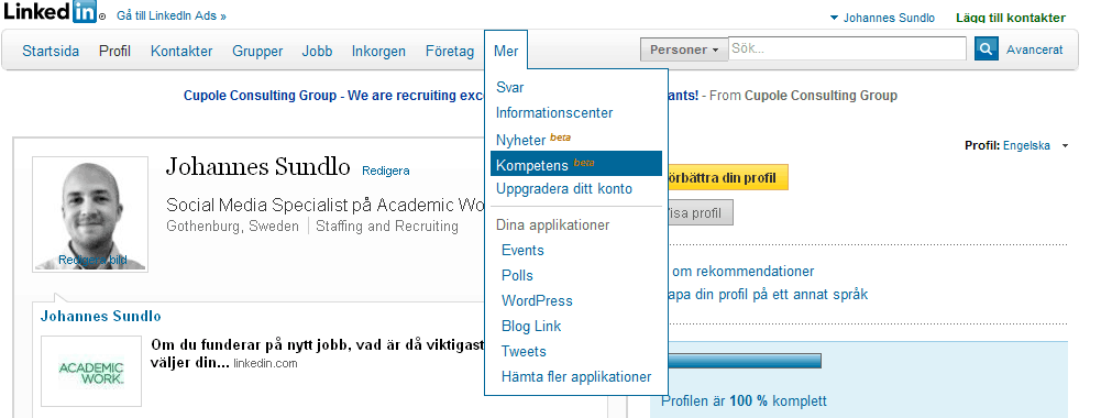how to delete a skill on linked in