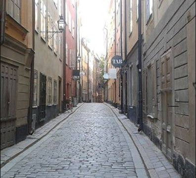 Reflektion gamla stan