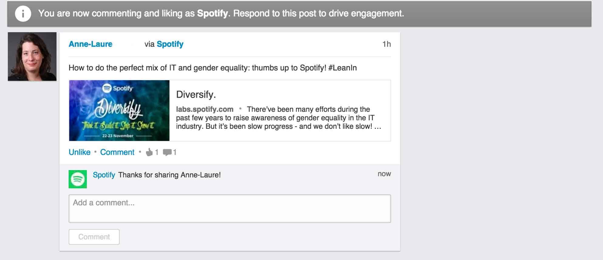LinkedIn blir helt plötsligt ett socialt medium.