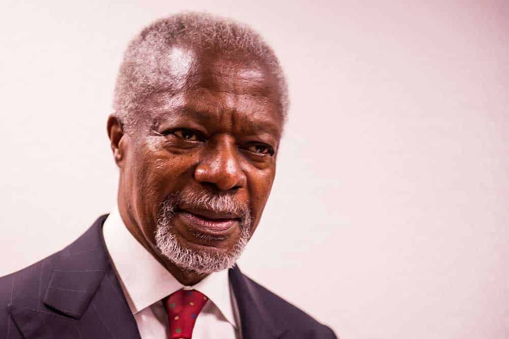 HR-konsulten Kofi Annan