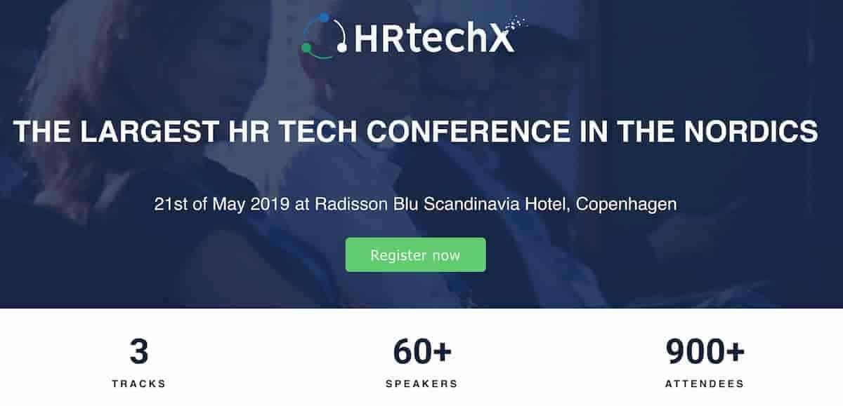 Intervju med en av grundarna till HRtechX i Köpenhamn.