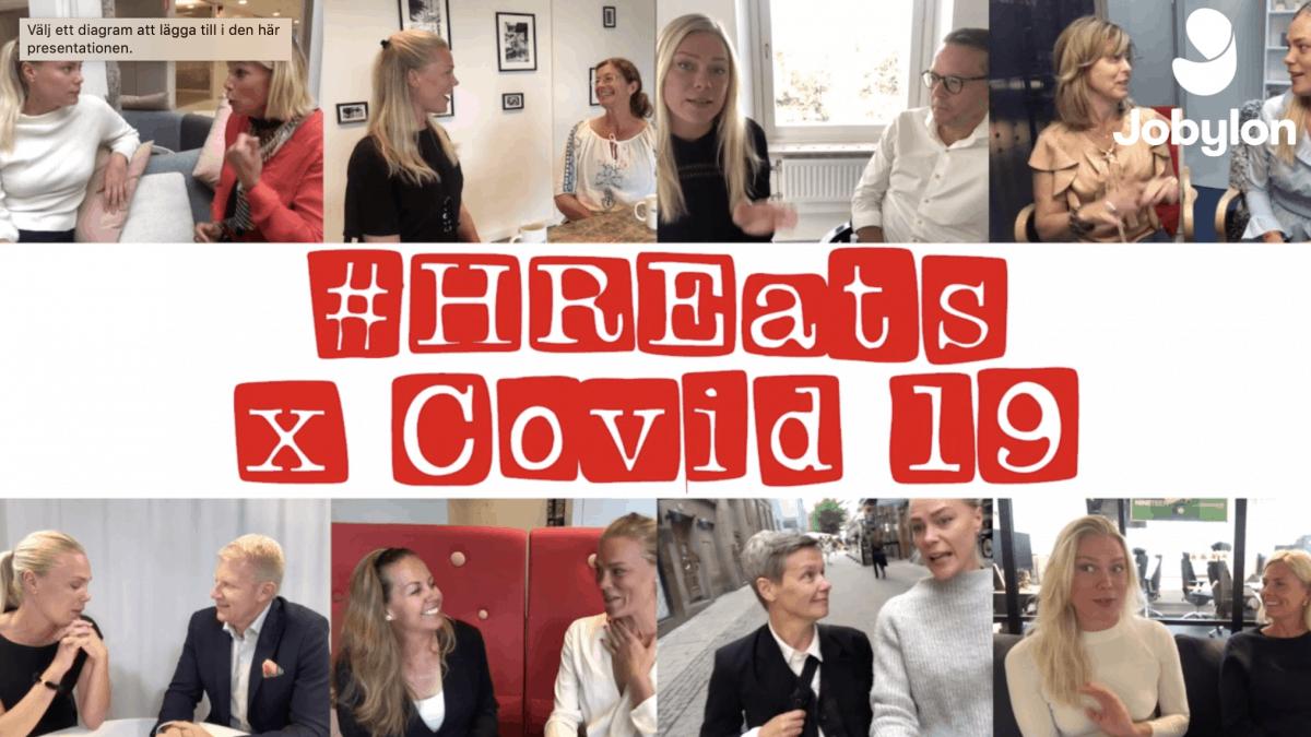 Vloggserie för HR med fokus på krishantering och digital gemenskap under Covid-19